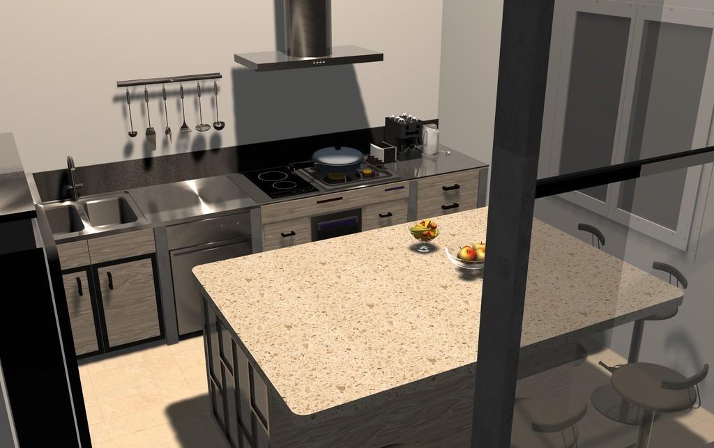 Plans bat permis de construire avant projets for Construire sa cuisine en 3d